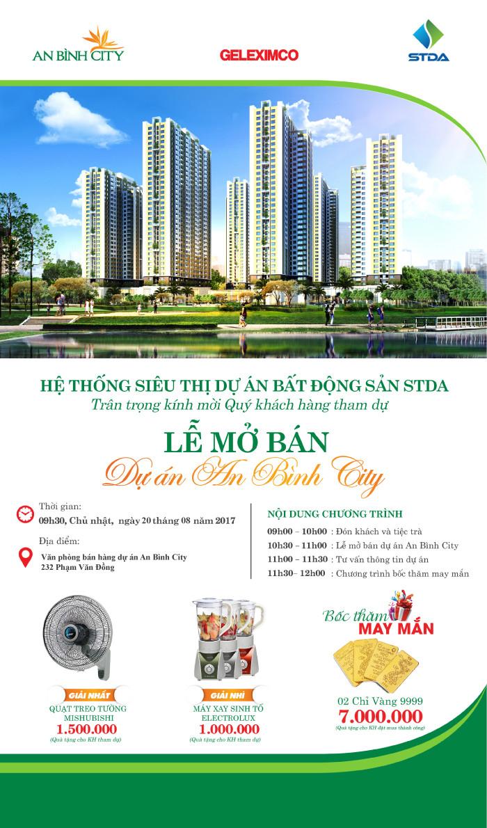 Mở bán An Bình City