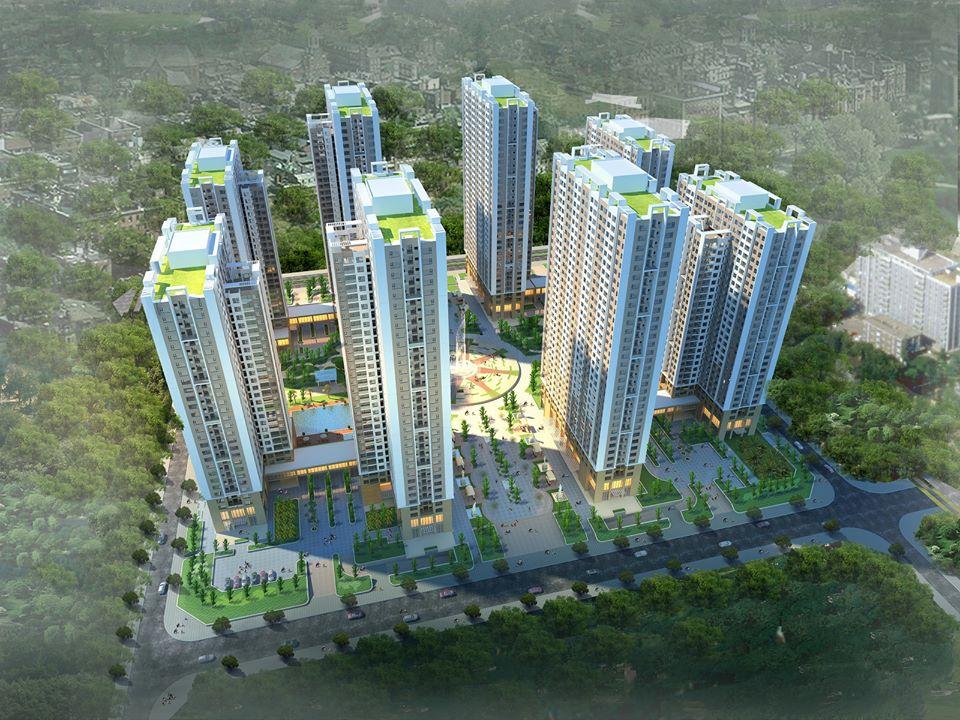Tổng quan 8 tòa chung cư An Bình City