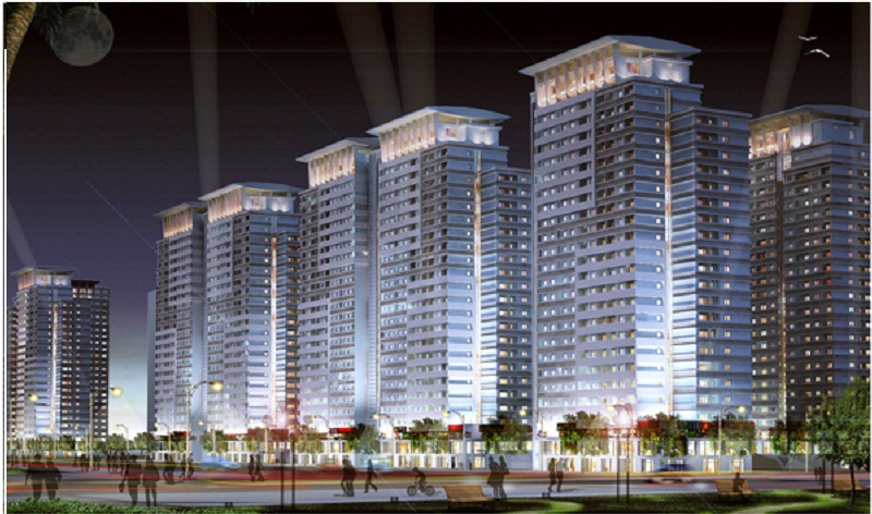 Hình ảnh tổng quan chung cư An Bình City